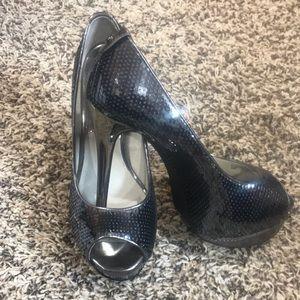 Michael Kors Sequins Heel Size 5.5